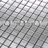 High quality HJ03 Silver mirror mosaic Real white gold mosaic 24K gold mosaic