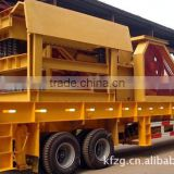 New Generation PP Jaw Mobile Crushing Plant For Hardness Ores And Rocks