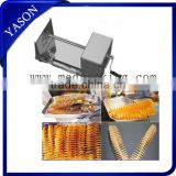 Manual Tornado Potato Chip Twist Cutter Spiral Potato Slicer Potato Cutting Machine with 2pcs Blades
