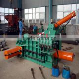 Semi-automatic scrap metal baling press machine with CE certification, manufacturer