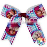 Christmas Ribbon Hair Bows for Christmas Party Girls Decoration Boutique Hair Bows for christmas