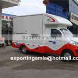 CLW brand new left hand drive foton mini food truck van