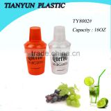 new products plastic shaker bottle for cocktail and drinking water
