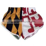 Women's Maryland Flag Running Split Shorts USA Flag Women's Compression Running Capri Tights boxing shorts sports shorts