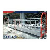 Hot galvanized cradle construction gondola building aluminum portable work platform
