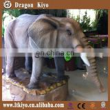 Moving Simulation Animal Model of Elephant