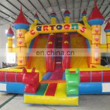 funny inflatable Joyous slide,giant festival slide,big cartoon slides for sale