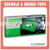 Wholesale kid funny plastic mini magnetic othello board game intelligent playing toy set