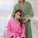 Wholesale Thicken Hotel Cotton Bathrobe For Unisex Suit