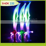 new product kid toy led light Halloween plastic flash led sword