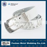 customized design women crystal beaded western belts
