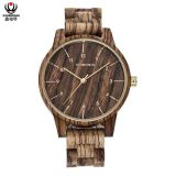 XINBOQIN Supplier Cheap Promotion Luxury High Brand Fashion Multi Color Quartz Men Wood Watch
