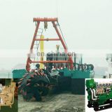 2500m3/h Hydraulic Cutter Suction Sand Dedge Ship