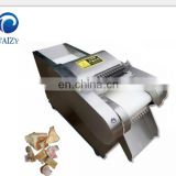 chicken meat processing equipment chicken meat cutting machine