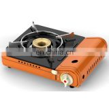 Portable gas stove with double over pressure prevent safety (Anti-explosion) TL194