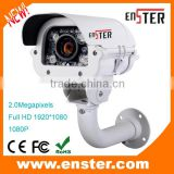 good quality for 2.0MP/1080P Varifocal lens waterproof bullet Camera IP66 HD TVI Analoge camera with 4 PCS Array IR LED