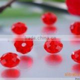 Fashion jewelry 4mm faceted crystal rondelle bead wholesale