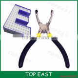 led the exposed light special insert pliers discharge lamp through the lamp mounting hole cloth lamp light word word lattice Rep