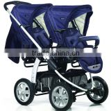 2016 new design portable baby twin stroller