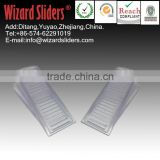 PVC door wedges/heavy duty door stoppers/plastic clear door stopper