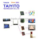 Advanced TAIYITO R&D gsm home automation system tablet control home lighting automation Zigbee residential securiry