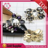 Fashion rhinestone decorations for shoes,Beautiful Butterfly shape to party shoes,wedding shoes