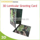Wholesale Custom Printing Happy birthday greeting cards 3D Lenticular Greeting Cards