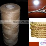 Raw Natural Jute rope Twine line yarn supplier/Jute rope 3ply 5ply