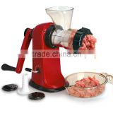 ABS+S/S 35*12.2*9.5 Hot sale kitchen tools meat grinder/manual noodle maker/sausage making machine/meat mincer