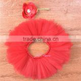 Girl Baby Clothes Baby Shower Gift Tutu Set Coming Home Outfit- red tutu set baby skirt