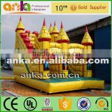 Waterproof inflatable castle bouncer inflatable water slide                                                                                                         Supplier's Choice
