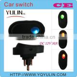 fast delivery porn 12mm blue light 12V automatic light car lift switch