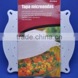 Plastic microwave food cover food plate cover