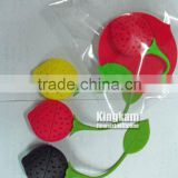 Colorful silicone strainer