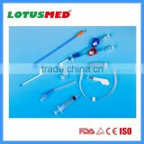 Double/Triple Lumen Hemodialysis Catheter for Dialysis Set CE/ISO