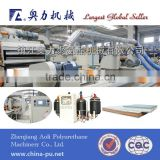 Polyurethane sandwich panel equipment