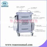 Model 03 ABS board hospital drug trolley