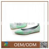 laser cut casual women soft flat shoes dance shoes with good quality and OEM ODM for girl