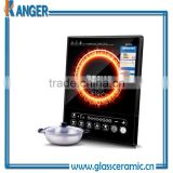 heat resistant black ceramic glass using in commercial bakery oven & camping stove & induction cooker