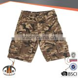 Cheap 3/4 Baggy Soft Works Khaki Camouflage Military Half Cargo Men Shorts Pants