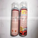 Removable 450ML MSDS car aerosol rubberplastic spray paint waterproof