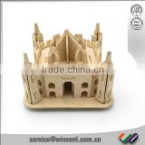 Taj Mahal Wooden Puzzle India Souvenir for Kids