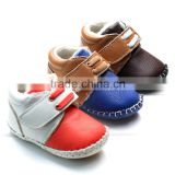 In the winter of high-grade leather and wool trade antiskid cotton soft soled Baby Infant Toddler shoes AB802 shoes