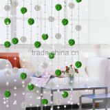 New designs living room window crystal bead curtain trim