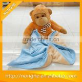 Polar fleece baby blanket/bathrobe baby with good quality