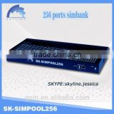 2015 New Arrive!SK sim bank 256 ports with iemi change /reasonable price