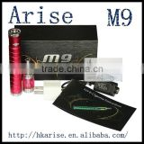 1600MAH voltages adjustable M9 mod,M9 ego ce4 starter kit m9 atomizer wax atomizer exgo w3 M9