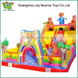 inflatable cartoon castle park,high quality inflatable park games