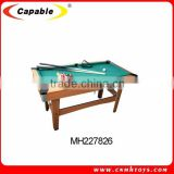 MDF slate billiard table price in China
