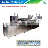 automatic suppository filling machine with 316L stailess steel-liquid filling package line